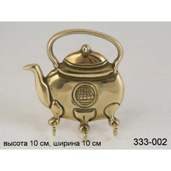 Крючок для ключей чайник (кор-30шт.)
