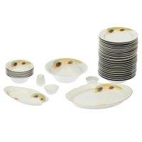 Сервиз столовый пава, 36 предметов, 2 вида тарелок
