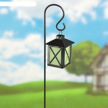 Декор садовый фонарик, светящийся в темноте, штекер 70 см,