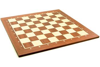 Доска шахматная турнирная 50мм, махагон