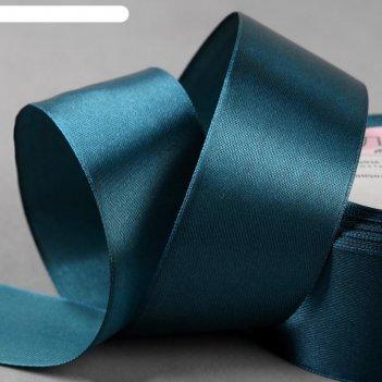Лента атласная, 40 мм x 23 ± 1 м, цвет мурена №153