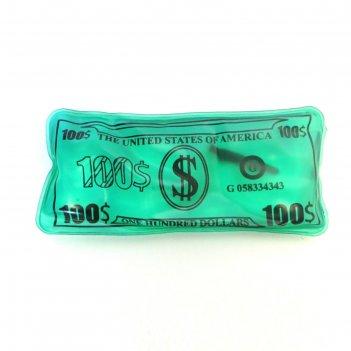 Многоразовая солевая грелка доллар