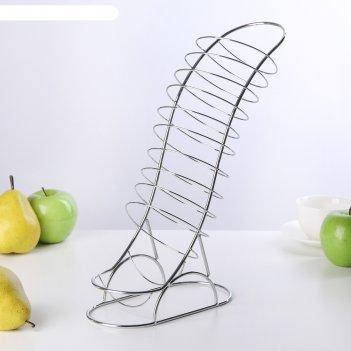 Ваза для фруктов 20х10х33 см вертикаль