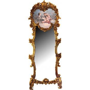 Зеркало 212*78 см.