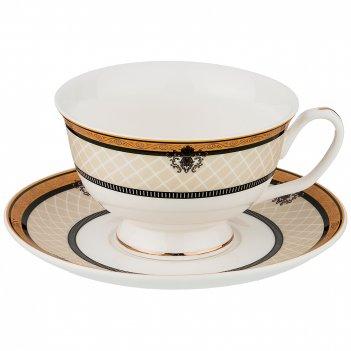 Чайный набор на 1 персону 2пр. 220мл (кор=36наб.)