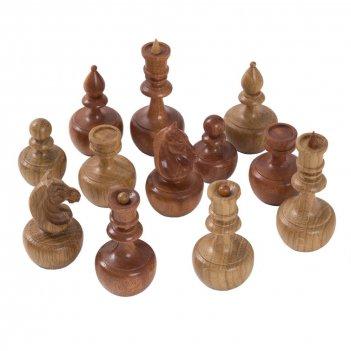 Шахматные фигуры неваляшки бук-орех