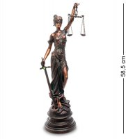 Ga-36 статуэтка фемида - богиня правосудия