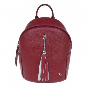 Рюкзак женский, гранат, 190x235x125