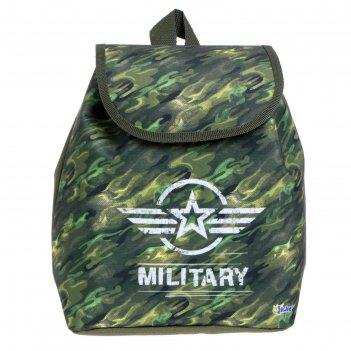 Рюкзак детский ср-01, 29*22*13,5, мал камуфляж арт 56532