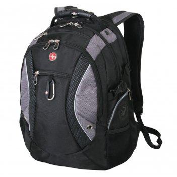 1015215 рюкзак wenger «neo» цв  черный/серый, полиэстар 900d