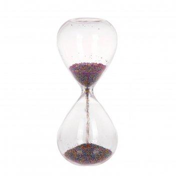 Часы песочные радуга