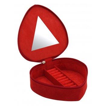 Friedrich lederwaren 20091-4 шкатулка для украшений в форме сердца