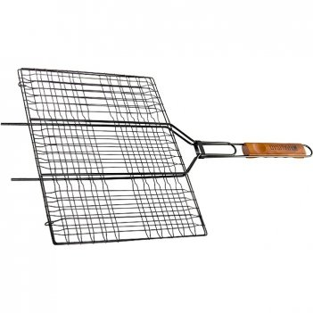 Решетка гриль 300 х 400 мм, антипригарное покрытие, camping palisad