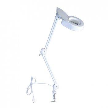 Настольная лампа-лупа с подсветкой veber 8608d 3d, 3дптр, 120 мм