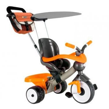 889 трехколесный велосипед coloma comfort angel orange aluminium