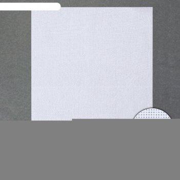 Канва для вышивания №11, 30 x 40 см, цвет белый