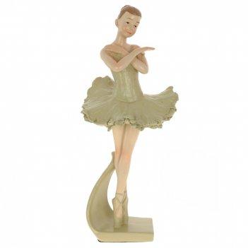 Фигурка декоративная балерина, l9 w9 h22 см