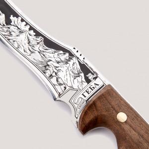 Нож разделочный большой «геба»