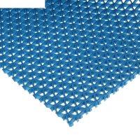 Покрытие ковровое зиг-заг, против скольжения, 0,9 х 10 м, синий