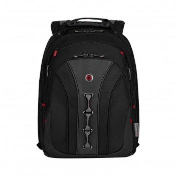 Рюкзак молодежный wenger 16 45*35*25 см 21л отд д/планшета, чёрный/серый