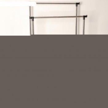 Стойка для одежды телескопическая, 2 перекладины 80x42x95(170) см, окрашен