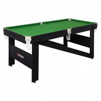 Бильярдный стол fortuna hobby пул, 6фт, с комплектом аксессуаров