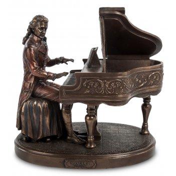 Ws- 65/ 1 статуэтка моцарт за роялем