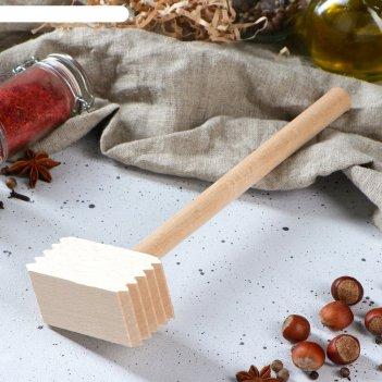 Молоток деревянный, квадратный