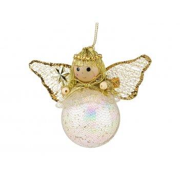 Декоративное изделие ангел-подвес высота=10 см. ...