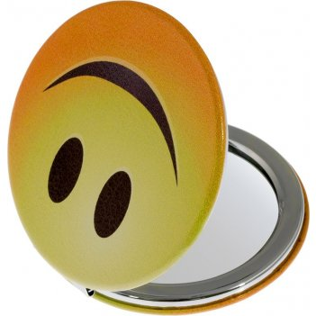 Зеркало mr21 компактное смайлики круглое, улыбка 60х60х0,9мм