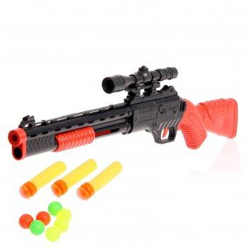 Ружье «шериф», стреляет мягкими пулями и шариками