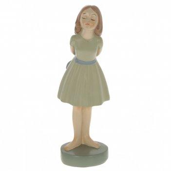 Фигурка декоративная девочка, l9 w9 h25 см