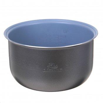Чаша для мультиварки добрыня do-11 non-stick, 4 л, антипригарная, серая