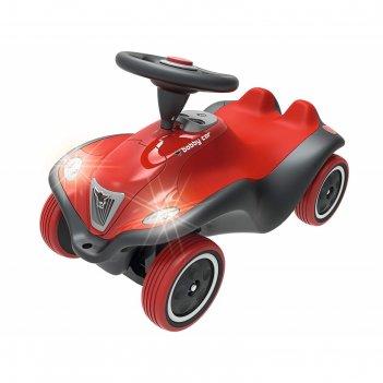Машинка-каталка big bobby car next красная, со световыми и звуковыми эффек