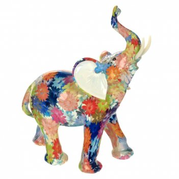 Фигурка декоративная слон, l21 w10 h26 см