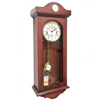 Настенные механические часы sars 2592-341 walnut