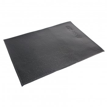 Обложка для паспорта, отдел для кредитных карт, цвет чёрный