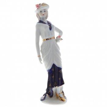Фигурка декоративная девушка, h21 см