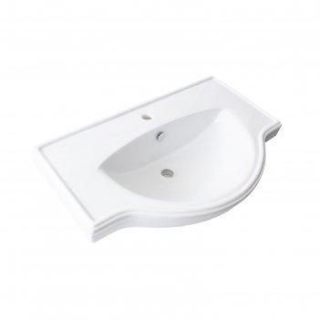 Умывальник sanita luxe «classic-80» мебельный, белый