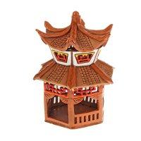 Аромалампа домик китай, ручная работа