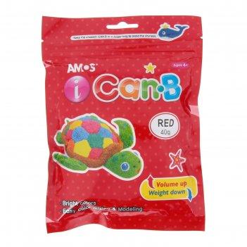 Пластилин шариковый в дисплее, 12 пакетиков по 40 гр, 6 цветов в упаковке