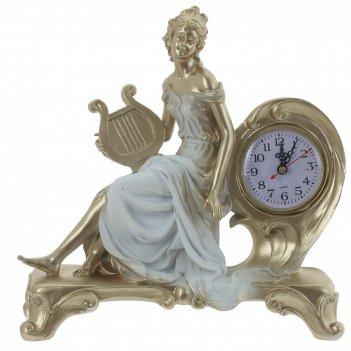 Часы настольные декоративные, l30 w11 h30 см, (1хаа не прилаг.)