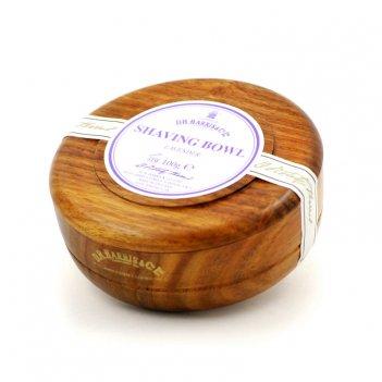 Твердое мыло для бритья в чаше из палисандра d. r. harris, lavender, 100 г