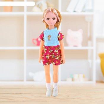 Кукла музыкальная татьяна 61 см, работает от батареек, микс