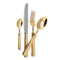 Набор столовых приборов на 12 персон line gold, 72 предмета, материал: нер