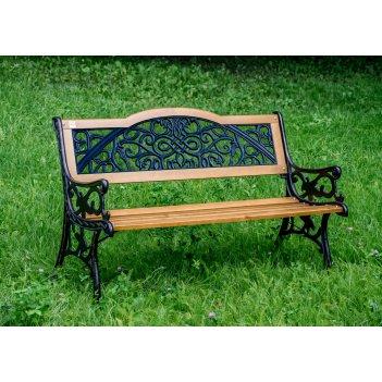 Скамейка садовая арабеска