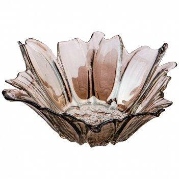 Блюдо глубокое/ваза для фруктов luster beauty fume 24см овки