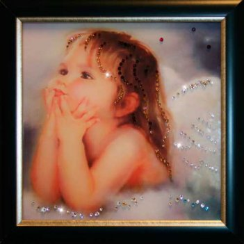 Картина сваровски - ты мой ангел