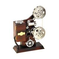 Шкатулка музыкальная механическая киносъемочный аппарат