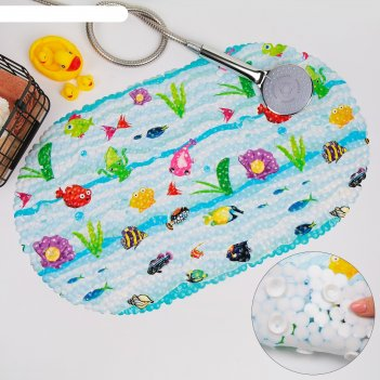 Spa-коврик для ванны морские жители